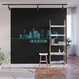 Houston Skyline Wall Mural