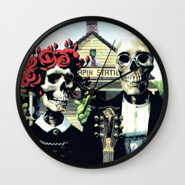 Good OL' - Grateful Dead Wall Clock