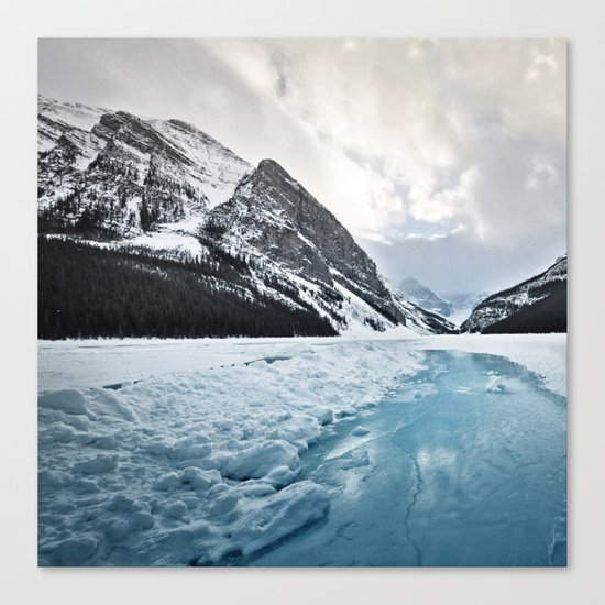 Frozen Louise Canvas Print
