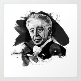 Arthur Rubinstein Art Print