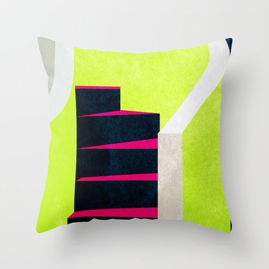 Stairs 03. Throw Pillow