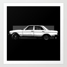 MB 200 D AUTO Art Print