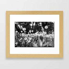 Charade Framed Art Print