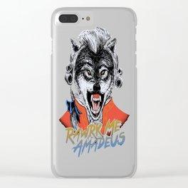 Rawrk Me Amadeus Clear iPhone Case