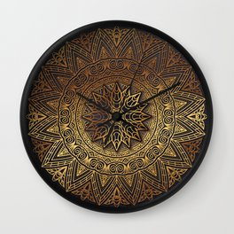 -A27- Original Heritage Moroccan Islamic Geometric Artwork. Wall Clock