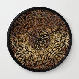 -A27- Original Heritage Moroccan Islamic Geometric Artwork. Wall Clock