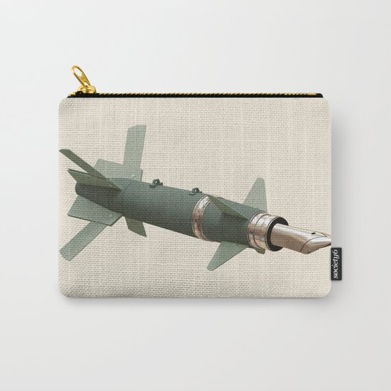 sky writing Carry-All Pouch