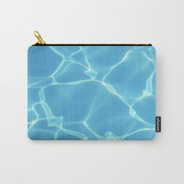 Swimming Pool water, Ripple Water, Sun Reflection Carry-All Pouch