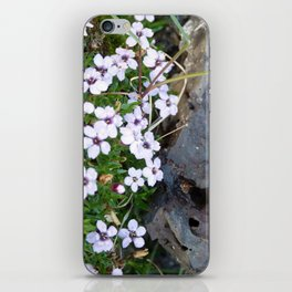 Volcanic flowers iPhone Skin