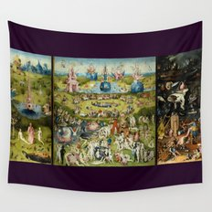 Hieronymus Bosch The Garden Of Earthly Delights Wall Tapestry