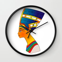 queen of ancient Egypt Wall Clock