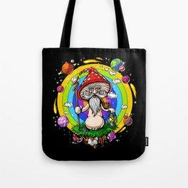 Psychedelic Magic Mushroom Psilocybin Tote Bag