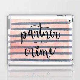 Partner in Crime Laptop & iPad Skin
