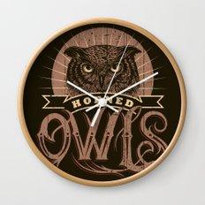 Team Owl Wall Clock