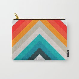 Colorful bands Carry-All Pouch