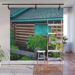 Cozy cabin Wall Mural