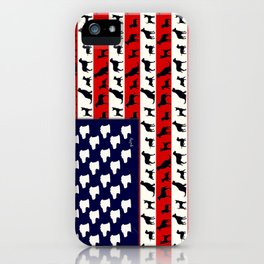 Dog Flag iPhone Case