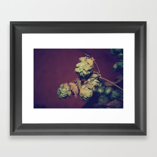 Hop Head Framed Art Print