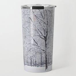 Snow in NYC Series Travel Mug