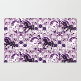 Swedish Candy Garden- Grape Rug