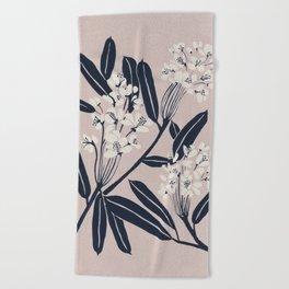 Boho Botanica Beach Towel