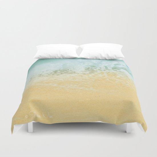 Kite Beach Ocean Splash Duvet Cover