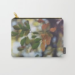Leaves and Bokeh Carry-All Pouch