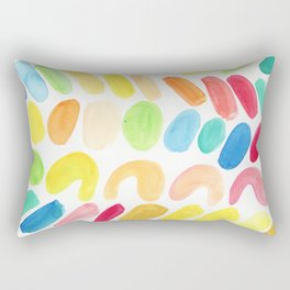Color hash Rectangular Pillow