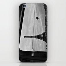 Eiffel Tower through window iPhone & iPod Skin