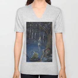 GrimmSeries4 - Learn to fear Unisex V-Neck