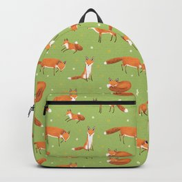 Red Foxes Backpack
