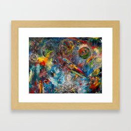 Unmitigated Chaos Framed Art Print