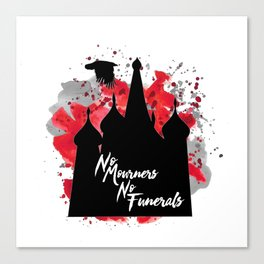 Six of Crows NMNF Canvas Print