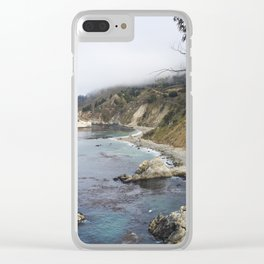 Pacific Ocean in Big Sur Clear iPhone Case