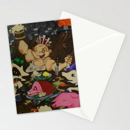 The Butcher King Stationery Cards