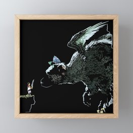 The Guardian Framed Mini Art Print