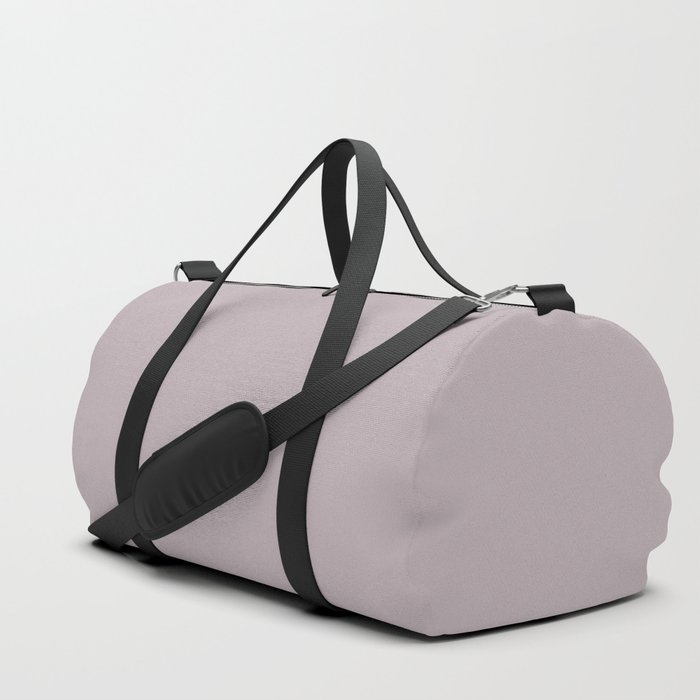 Annas Song Solid Soft Dusty Rose Duffle Bag