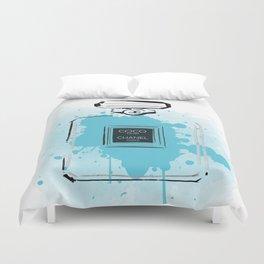 Blue Perfume #2 Duvet Cover