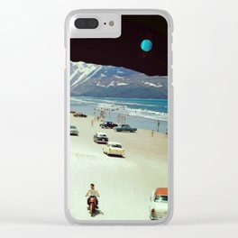 Powerful Conjunction... Clear iPhone Case