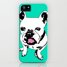 King Louie the Frenchie iPhone Case