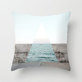 Navigating to the truth Throw Pillow