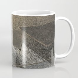 concrete sunshine triangle arrow Coffee Mug
