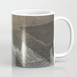 concrete sunshine triangle arrow Coffee Mug