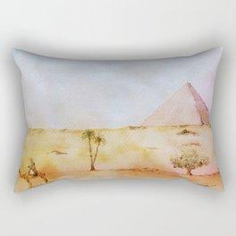 Giza Pyramid Rectangular Pillow