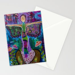"""""""Transformation"""" Original painting by Toni Becker, Artfully Healing Stationery Cards"""