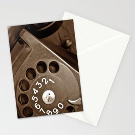 .incoming call. Stationery Cards
