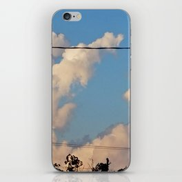 Unfiltered Sky iPhone Skin