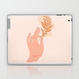 Abstraction_NAMASTE_LOVE_Minimalism_001 Laptop & iPad Skin