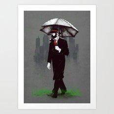 Acid rain Art Print