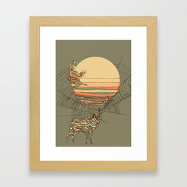 The Haunting Idle Framed Art Print